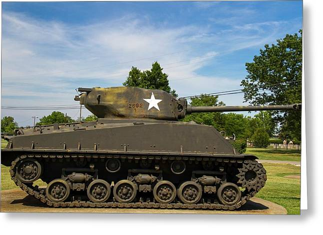 General Patton Museum Greeting Card by Photostock-israel