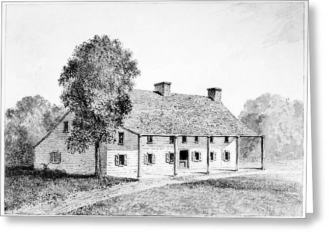 General Schuyler's House Greeting Card by Granger