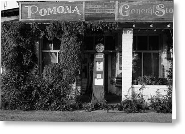 General Store, Pomona, Illinois, Usa Greeting Card by Panoramic Images