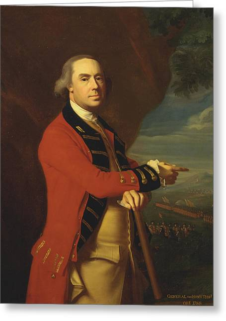 General Thomas Gage Greeting Card