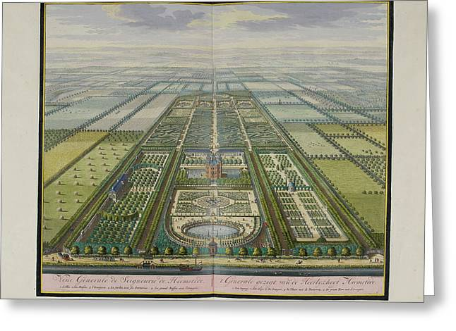 General View Of The Estate Of Heemstede Greeting Card by British Library