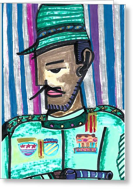 Generalissimo Diego  Greeting Card