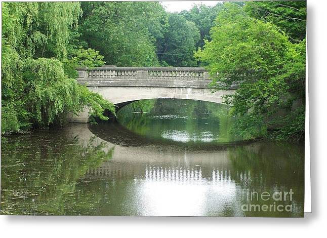 Genesee Valley Bridge Greeting Card
