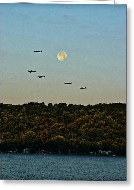Geneseo Air Show Greeting Card