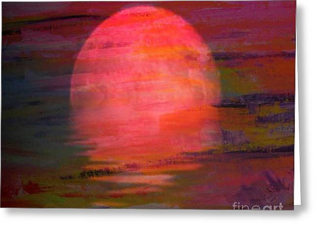 Genesis Greeting Card by PainterArtist FIN