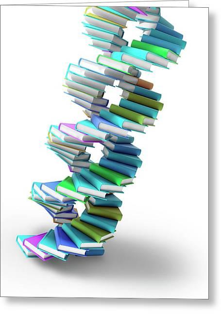 Genetics Greeting Card by Andrzej Wojcicki