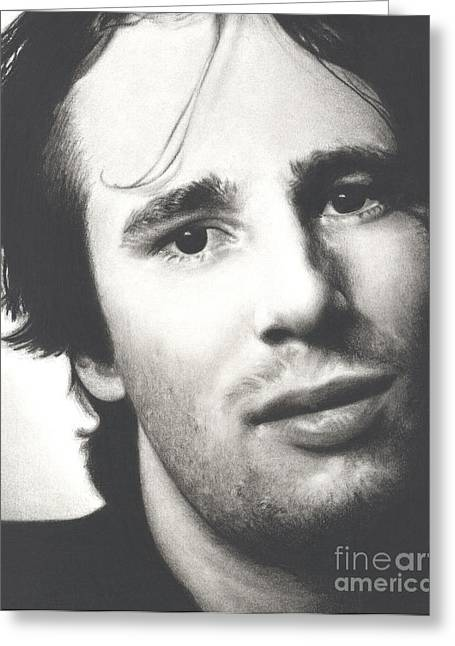 Gentle And Kind -- Jeff Buckley Greeting Card by N Faulkner