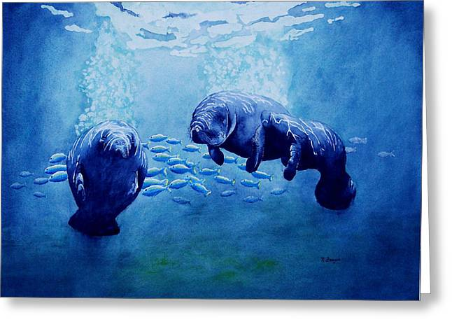 Gentle Giants Greeting Card