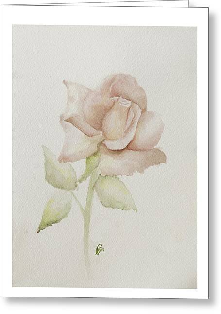 Gentle Grace Greeting Card by Nancy Edwards
