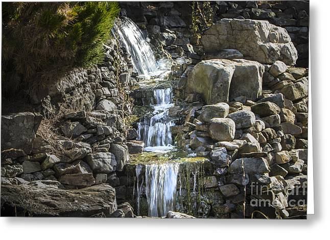 Gentle Waterfall Greeting Card