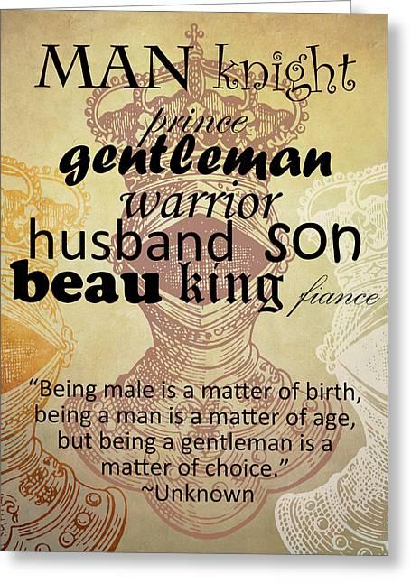 Gentleman 2 Greeting Card