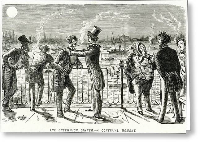 Gentlemen (under The Influence Greeting Card