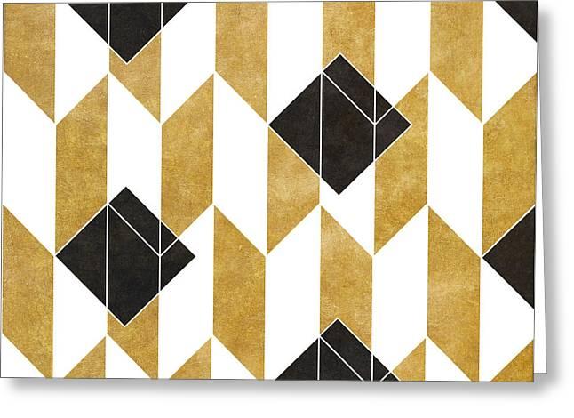 Geo Pattern IIi Greeting Card by South Social Studio