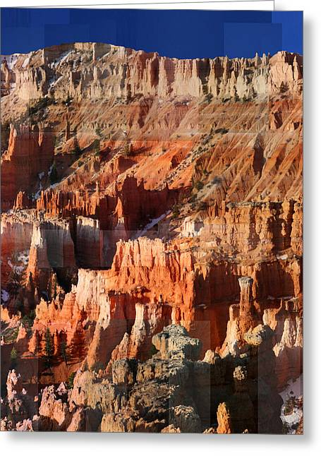 Geology Triptych - Three Greeting Card