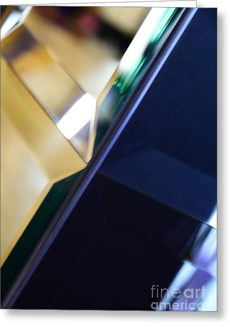 Geometry Of Light IIi Greeting Card by Thomas Carroll