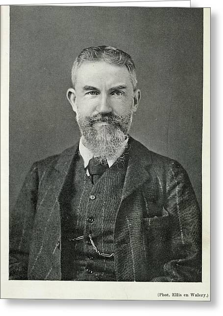 George Bernard Shaw Greeting Card
