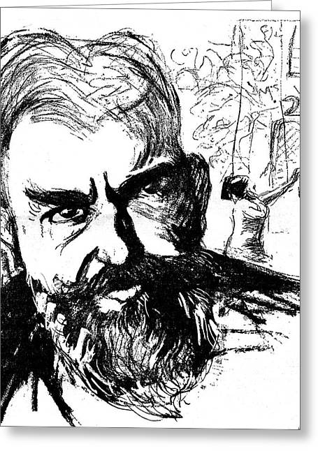 George Bernard Shaw Greeting Card by Collection Abecasis
