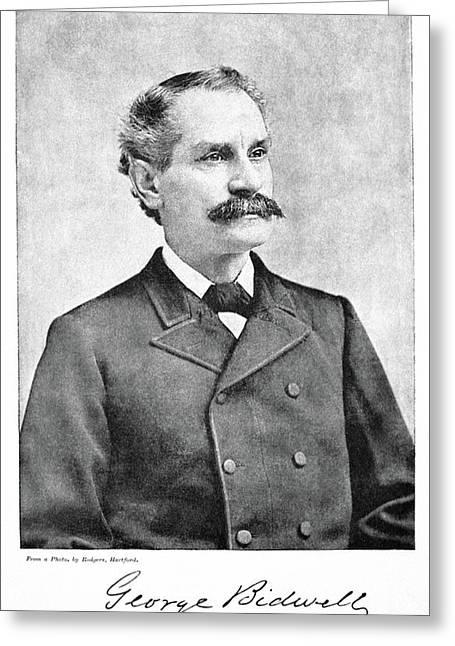 George Bidwell (1837-1899) Greeting Card by Granger