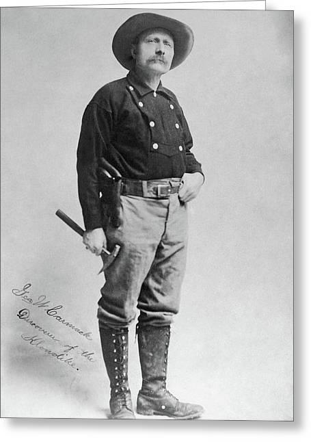 George Carmack (1860-1922) Greeting Card