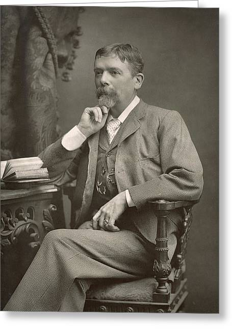 George Du Maurier Greeting Card