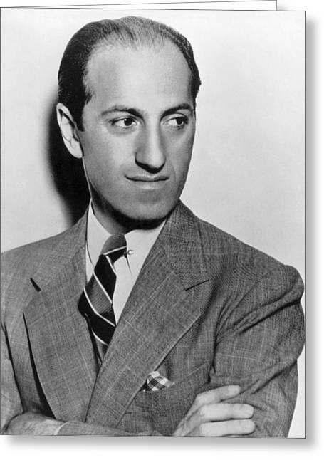 George Gershwin (1898-1937) Greeting Card by Granger