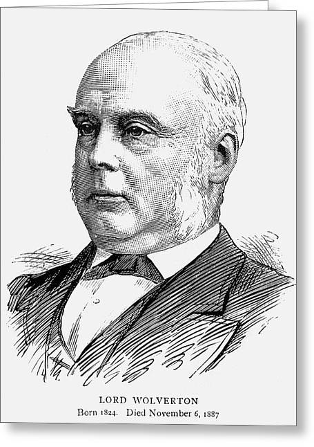 George Glyn (1824-1887) Greeting Card