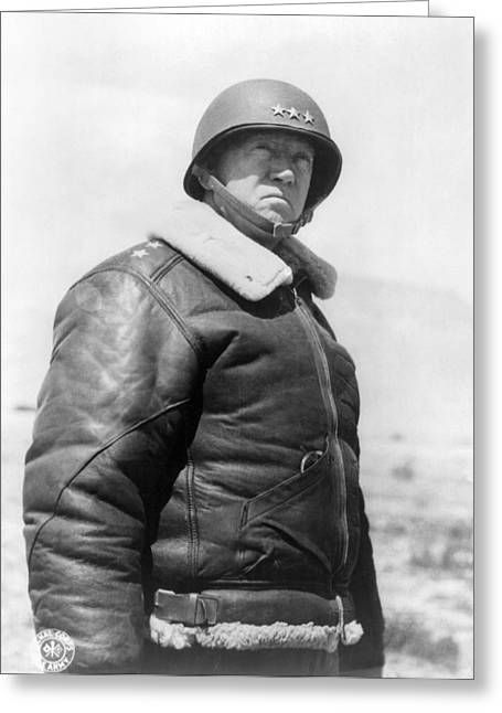 George Smith Patton Greeting Card by Granger