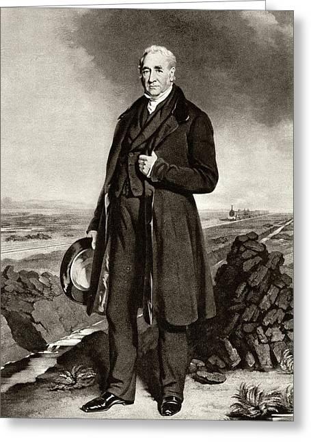 George Stephenson Greeting Card