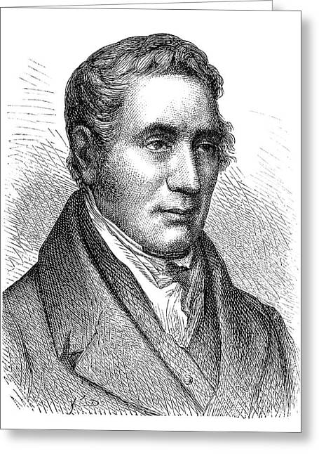 George Stephenson Greeting Card by Science Photo Library