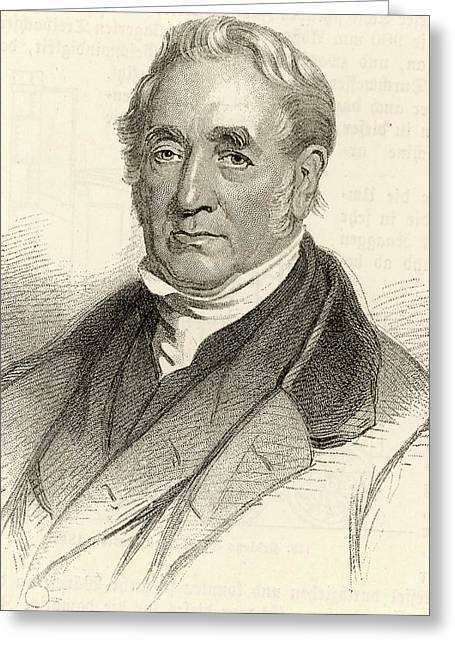 George Stephenson Greeting Card by Universal History Archive/uig
