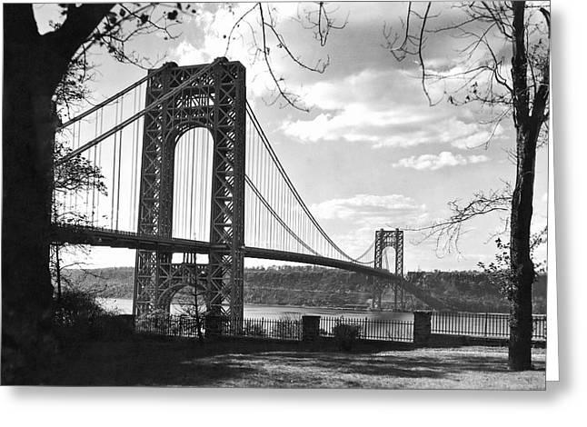 George Washington Bridge Greeting Card