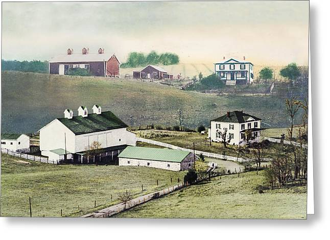 Georges Farm Greeting Card