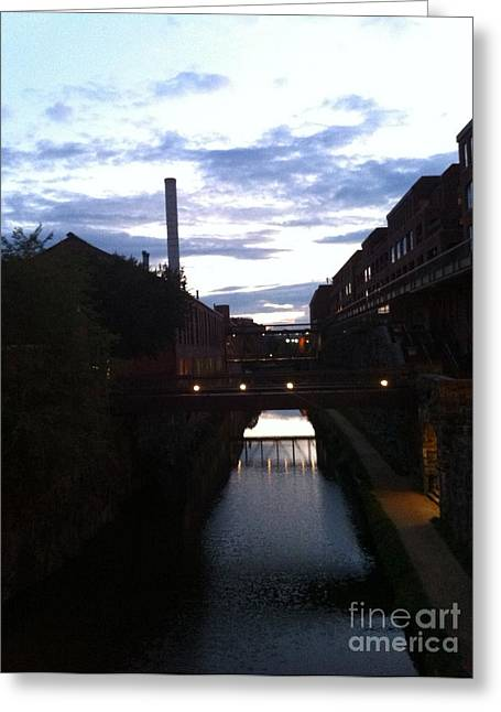 Georgetown Canal Greeting Card