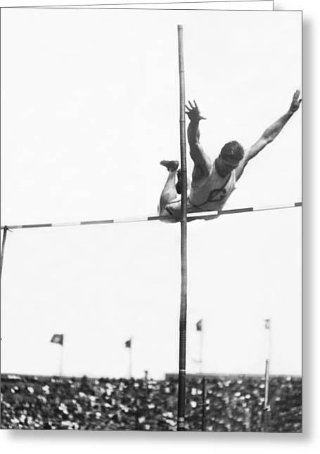 Georgetown Decathlon Star Greeting Card by Underwood Archives