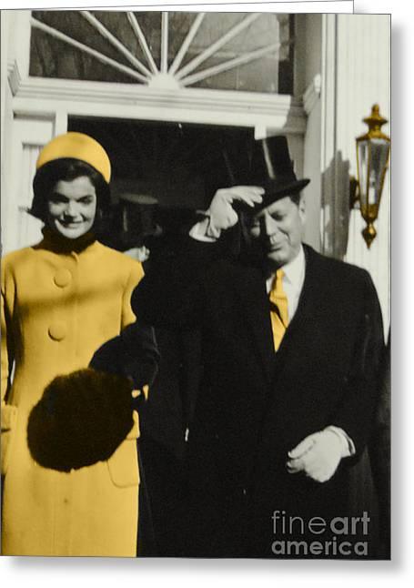 Georgetown Kennedy Greeting Card by Jost Houk