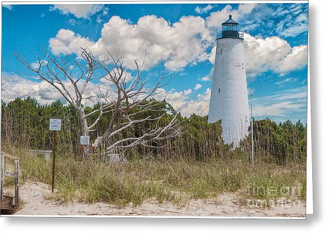 Georgetown Sc Lighthouse Greeting Card