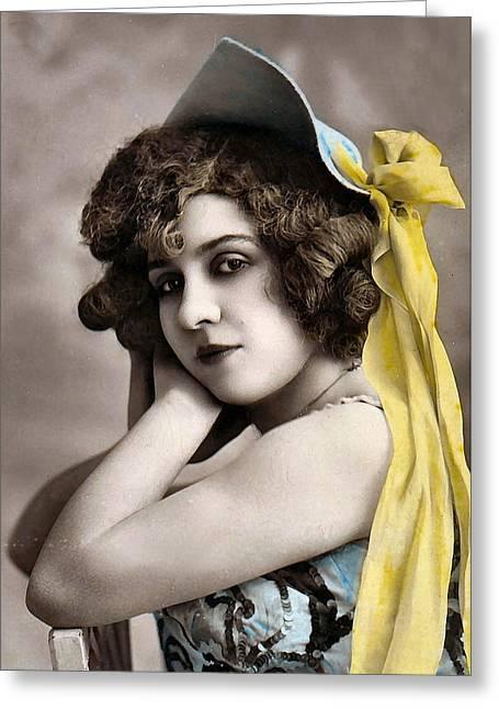 Georgette Delmares Greeting Card by Studio Photo