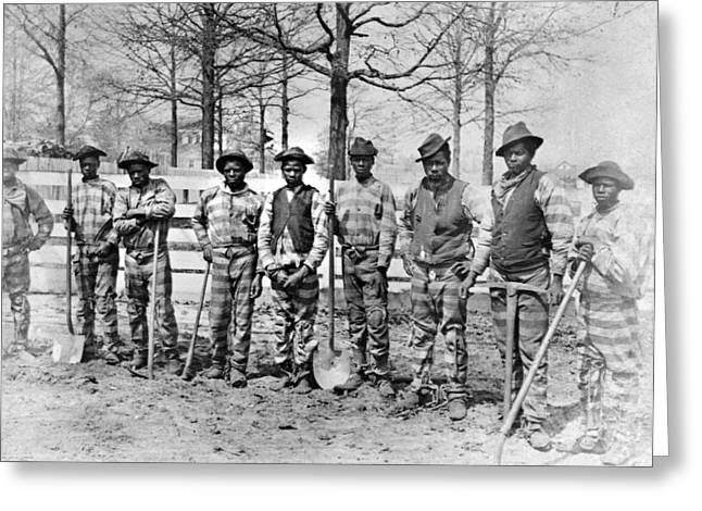 Georgia Chain Gang Greeting Card by Granger