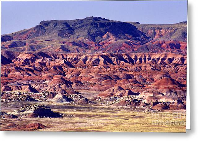 Georgia O'keefe Country - The Painted Desert Greeting Card by Douglas Taylor