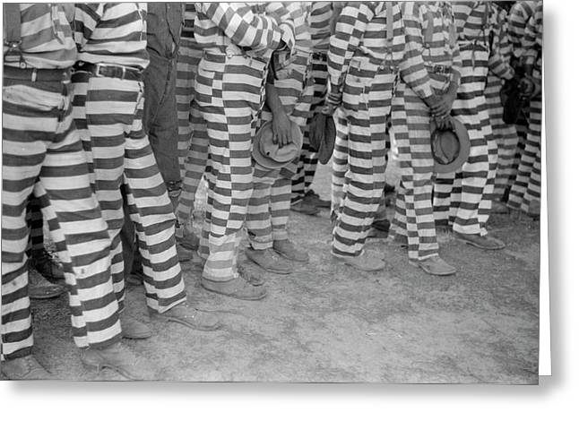 Georgia Prisoners, 1941 Greeting Card by Granger