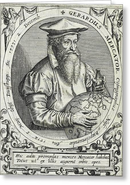 Geradus Mercator Greeting Card