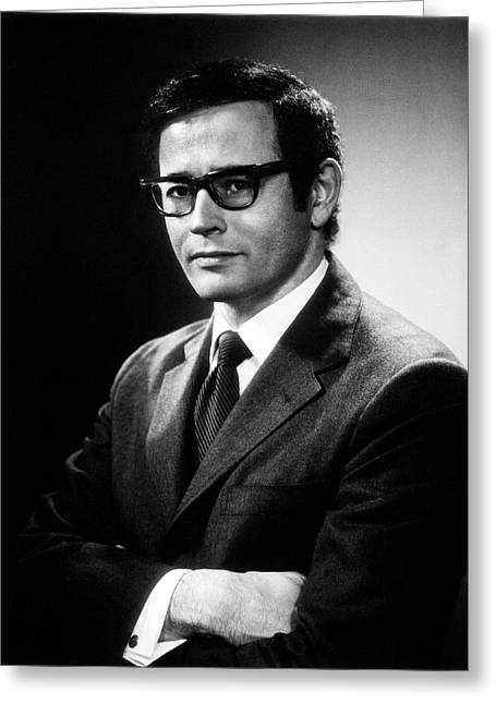 Gerald Edelman Greeting Card by National Library Of Medicine