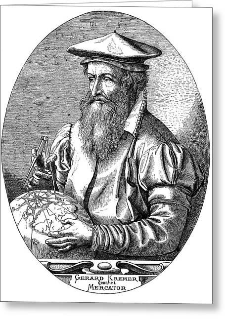 Gerardus Mercator Greeting Card