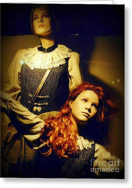 German Mannequins Greeting Card by Halifax Photography John Malone