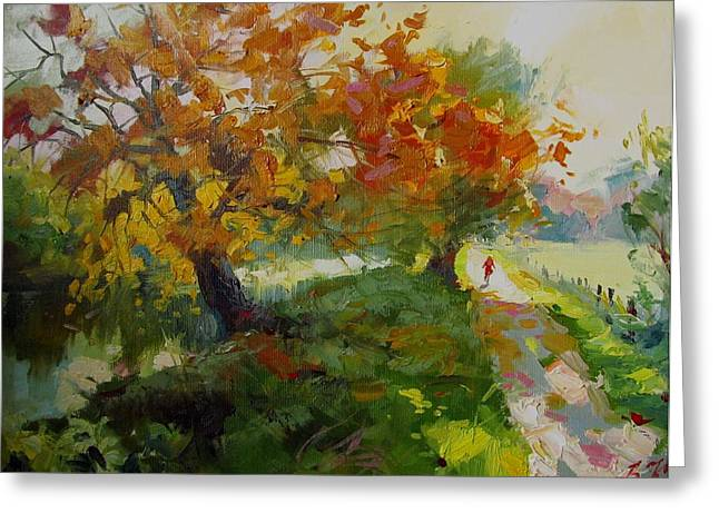 Germany Autumn Greeting Card by Volodymyr Klemazov
