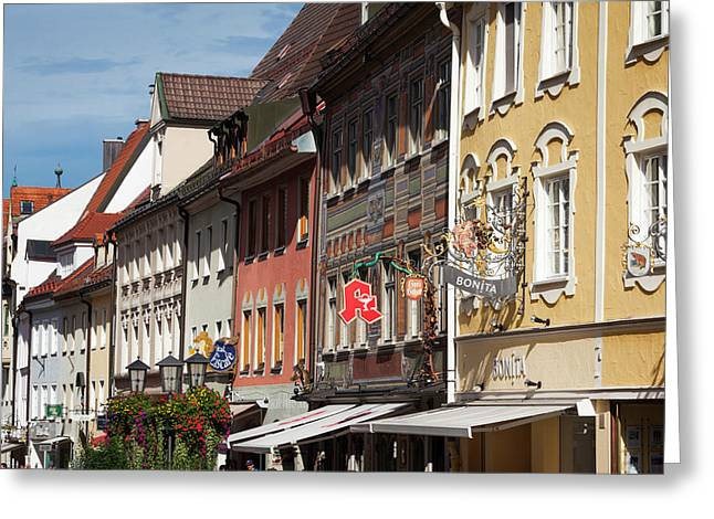 Germany, Bavaria, Fussen Greeting Card