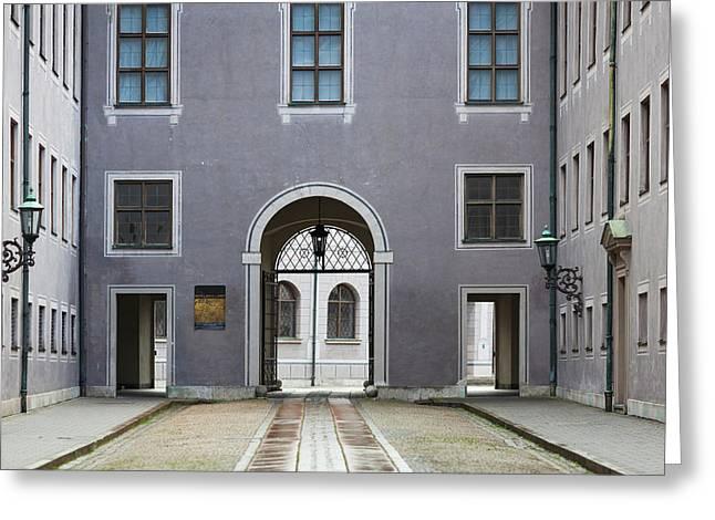 Germany, Bavaria, Munich, Residenz Greeting Card