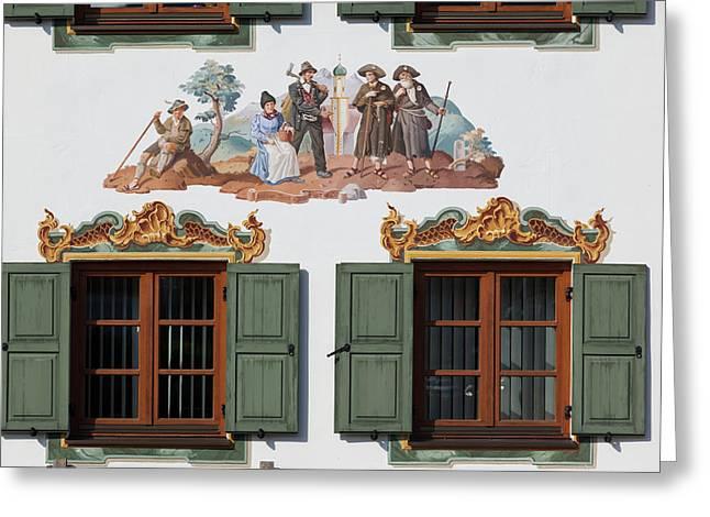 Germany, Bavaria, Wallgau, Bavarian Greeting Card