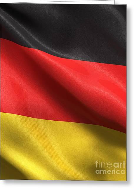 Germany Flag Greeting Card by Carsten Reisinger