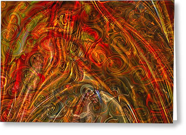 Get Lost In My World Greeting Card by Omaste Witkowski